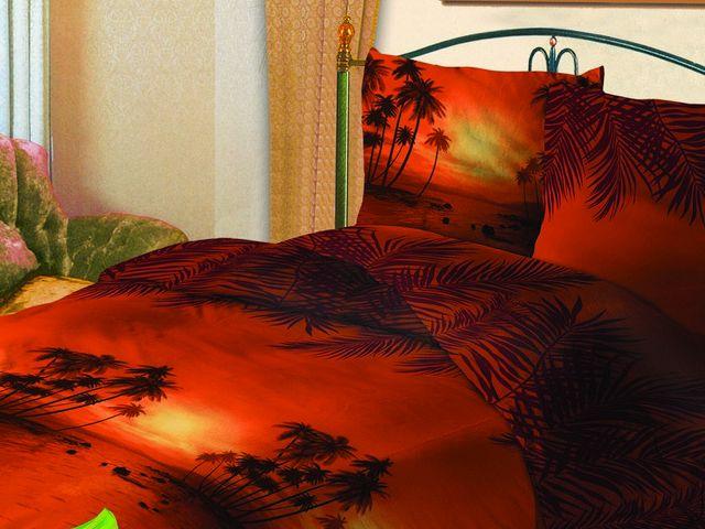 купить Постельное белье Зоряне сяйво, двуспальный евро, дизайн Кенія цена, отзывы