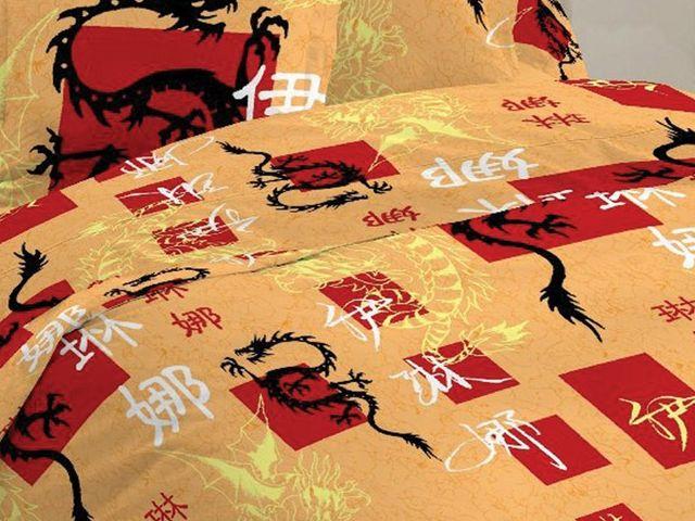 купить Постельное белье Солодкий сон двуспальный евро, дизайн Дракон цена, отзывы