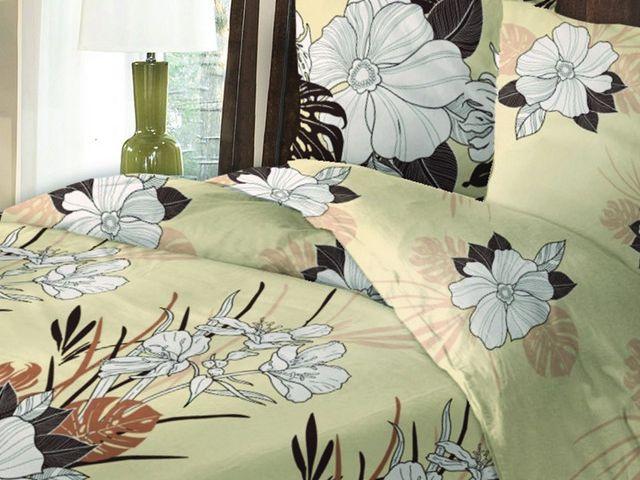 Фото - Постельное белье ТМ Солодкий сон двуспальный евро, рис. Вердино купить в киеве на подарок, цена, отзывы