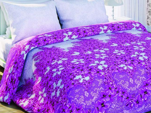 купить Постельно белье Солодкий Сон двуспальный евро, дизайн Бузкове мереживо цена, отзывы