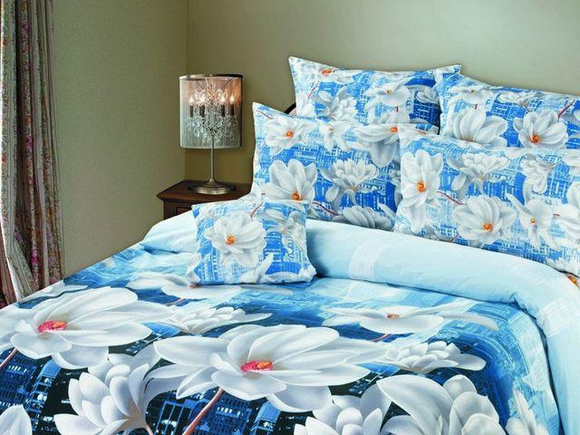 купить Постельное белье Зоряне сяйво, двуспальный евро, дизайн Рандеву цена, отзывы