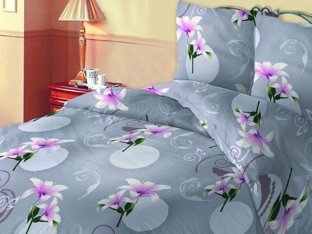купить 310873 Постельное белье Зоряне сяйво двуспальный евро, дизайн Лилия цена, отзывы