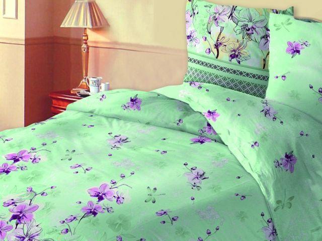 купить Постельное белье Зоряне сяйво двуспальный евро, дизайн Силует цена, отзывы