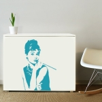 фото 5825  Наклейка Декоративная Audrey Hepburn цена, отзывы