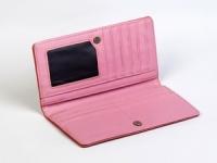 фото 8812  Женский кошелек Кейсис (розовый-бирюзовый) цена, отзывы