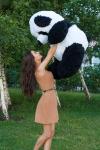фото 8925  Медведь Панда 150 см цена, отзывы