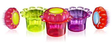 фото 7017  Расческа Tangle Teezer - Magic Flowerpot Princess Pink цена, отзывы