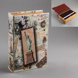 купить Книга-сейф в ассортименте 22 см цена, отзывы