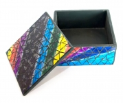 фото 4717  Шкатулка для украшений мозаичная 17Х17Х8 см цена, отзывы