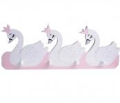 фото 25788  Детская деревянная вешалка Лебеди цена, отзывы