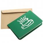 фото 9629  Объемная открытка С днем рождения зеленая цена, отзывы