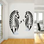 фото 5756  Интерьерная Наклейка Zebra цена, отзывы