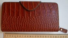 фото 1536  Кожаный клатч мужской ручной m013 цена, отзывы