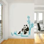 фото 5768  Интерьерная Наклейка Panda цена, отзывы