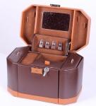 фото 6881  Шкатулка для украшений коричневая изящная цена, отзывы