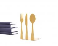 фото 9882  Держатель для книг Столовые приборы золото цена, отзывы