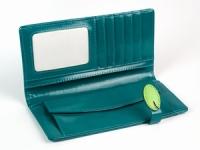 фото 8781  Женский кошелек с жабкой бирюзовый цена, отзывы