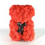 фото 25412  Мишка из роз Teddy Bear 23 см красный цена, отзывы