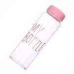 фото 11221  Бутылка My bottle розовая цена, отзывы