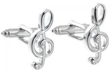 фото 6851  Запонки Скрипичный ключ цена, отзывы