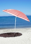 фото 1581  Пляжный зонт с наклоном 1.8м с ультрафиолетовой защитой цена, отзывы