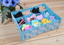 фото 4765  Органайзер для хранения белья и носков голубой цена, отзывы