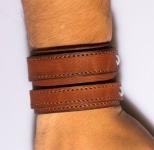фото 9426  Антический кожаный браслет Basil цена, отзывы
