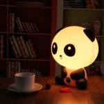 фото 25128  Настольный светильник-ночник Панда цена, отзывы