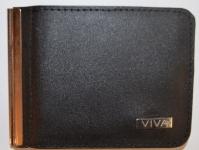 фото 1570  Зажим для денег с кармашеком для мелочи натуральная кожа №4 цена, отзывы