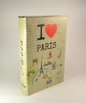 фото 5205  Книга сейф I love Paris 26 см  цена, отзывы