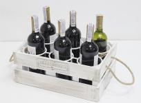 купить Подставка для вина ящик на 6 бутылок цена, отзывы