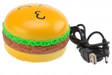 купить Гамбургер - массажер с USB цена, отзывы