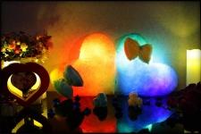 купить Светящаяся подушка Сердце с бантиком цена, отзывы