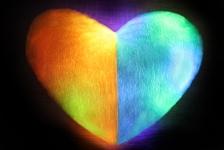 купить Светящаяся подушка Сердце патриота Украины цена, отзывы