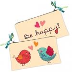 купить Косметичка-кошелек птенчики happy цена, отзывы