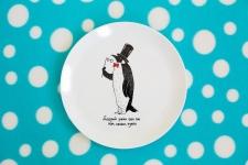 купить Тарелка Пингвин цена, отзывы