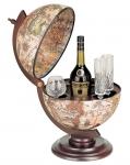 купить Глобус бар коричневый мир в ладонях цена, отзывы
