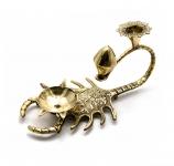 купить Подсвечник бронзовый Скорпион цена, отзывы