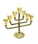 купить Подсвечник менора бронзовый на 7 свечей фонарь цена, отзывы