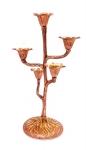 купить Подсвечник на 5 свечей бронзовый цветок цена, отзывы