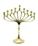 купить Подсвечник на 9 свечей бронзовый павлин цена, отзывы