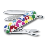 купить Нож Victorinox разноцветный цена, отзывы