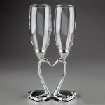 купить Свадебные бокалы Лебеди цена, отзывы