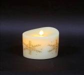 купить Несгораемая свеча 12,5 см снежинки цена, отзывы