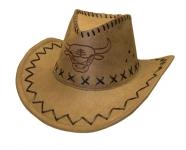 купить Ковбойская шляпа с орнаментом бежевая цена, отзывы