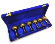 купить Бокалы бронзовые позолоченные 6 шт Greta цена, отзывы