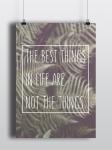 купить Постер The best things цена, отзывы