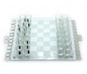 купить Игровой набор Шахматы с рюмками шашками картами цена, отзывы