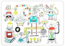 купить Подставка под горячее Роботы цена, отзывы