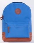 купить Рюкзак GiN Bronx голубой с коричневым цена, отзывы